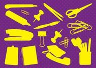 Office Supplies Vectors