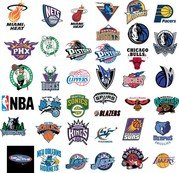 Loghi vettoriali di basket NBA Team
