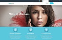 Sell Photos Online Free PSD Template