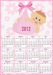 Beautiful 2012 Calendar 01