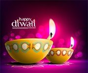 The Beautiful Diwali Card 08