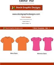 Vector T-Shirt Templates