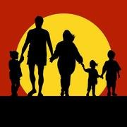 FAMILY VECTOR SILHOUETTE.eps