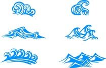 Blue Waves Graphics