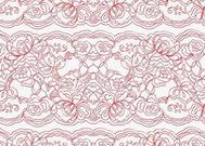 Vector Lace Pattern