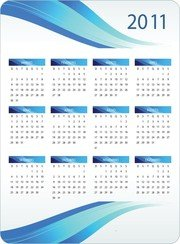 Imprimable Calendrier 2011