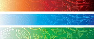 Abstract Banner Background Set (Free)