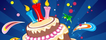 Party Cake Card