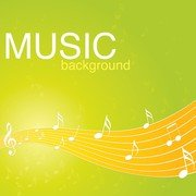 Vibrant Music Background