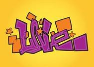 Love Graffiti Text