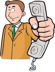 Man with phone 8