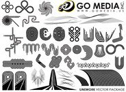 Go Media Vector Chupin material - a combination of lines