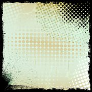 Urban Grunge Halftone Background