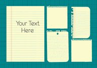 Note Paper Vector Clip Art (gratuit)