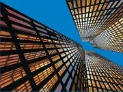 Look Up Highrise Buildings
