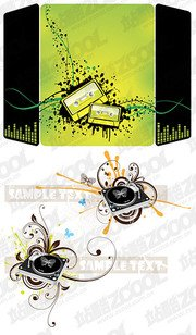 Two musical elements illustrator