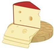 Slice of cheese 1