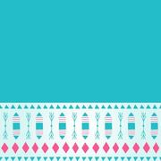 Simplistic Abstract Teal Background