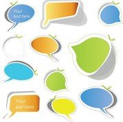 Speech Bubble-Sticker