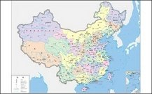 China maps (four-color)