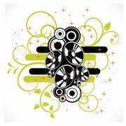ABSTRACT SPEAKERS VECTOR DESIGN.eps