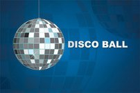 Disco Ball Party Background Vector Free