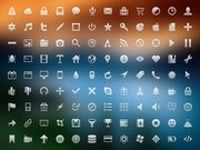 Glifo 108 Icon Set