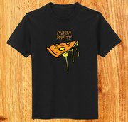 Funky Pizza T-shirt Design