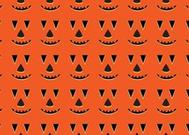 Halloween Vector Pumpkin Pattern