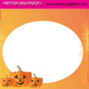 Halloween Vector Art, carte de voeux