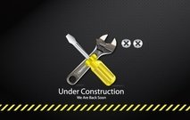 Unter Construction Tools Symbol