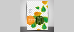Nature Abstract Corporate Brochure Cover