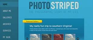 PhotoStriped WordPress téma