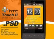 HTC Touch 2 Smartphone.PSD