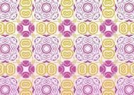Retro Flowers Pattern