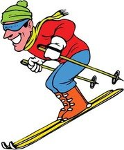 Snow boarding vector 14