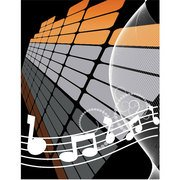 MUSIQUE ABSTRACT VECTOR BACKGROUND.eps