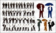 The action of various business men