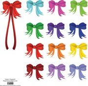 Vector Holiday Ribbon