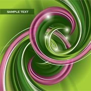 dynamic abstract spiral pattern 02