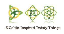 3 Vector Celtic Twisty Things Free Vectors Symbols Vector Celtic Twisty