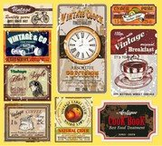 Vintage Wine Label Collection 01