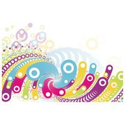 COLORFUL BUBBLES ABSTRACT VECTOR.eps