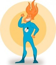Kablam Super Hero Flame