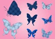 Butterflies With Patterns