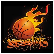 BASKETBALL GRAFFITI VECTOR.eps