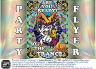 Trance Party Flyer