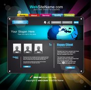 The trend of dynamic website templates 05
