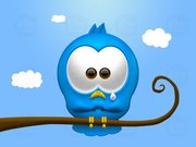 Triest Twitter vogel Icon