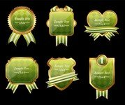 Exquisite Europeanstyle Badge Labels 01
